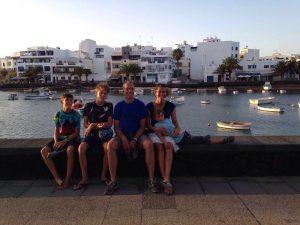 Familienfoto Arrecife
