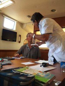 Arzt an Bord aufr