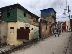Straßenszene Santiago